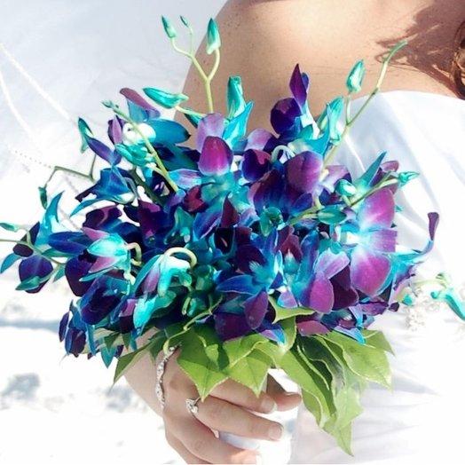 Свадебная орхидея: букеты цветов на заказ Flowwow