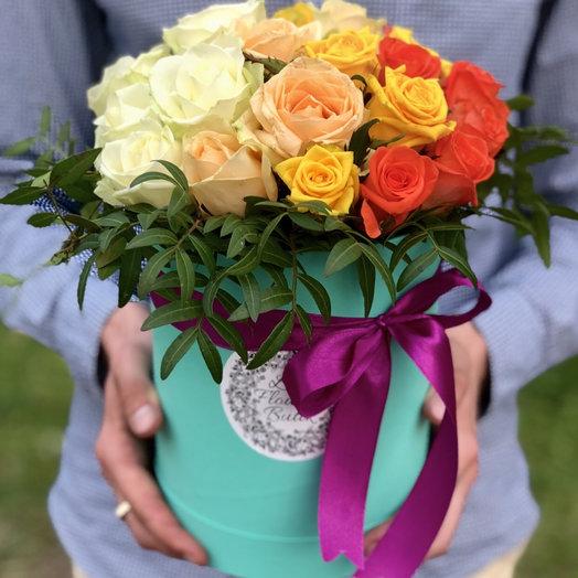 Gradient box: букеты цветов на заказ Flowwow