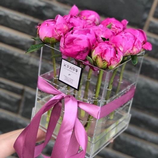Розы в ящике с водой : букеты цветов на заказ Flowwow