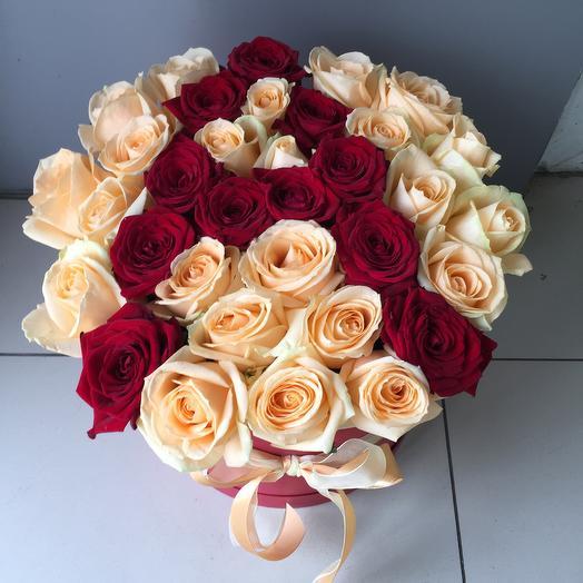 Именная коробка: букеты цветов на заказ Flowwow