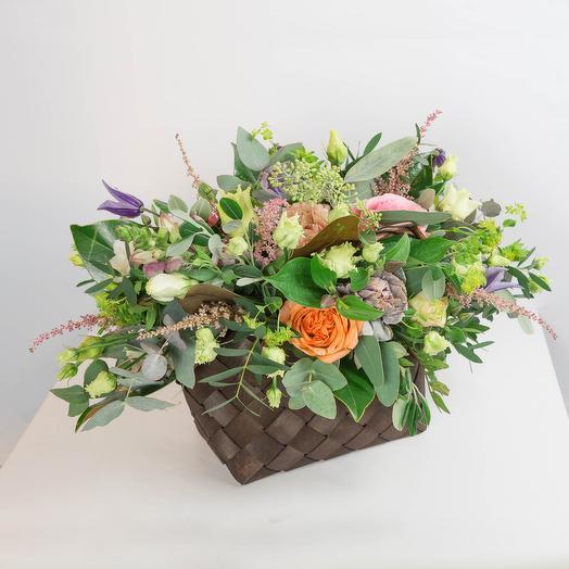Корзина Чудеса: букеты цветов на заказ Flowwow