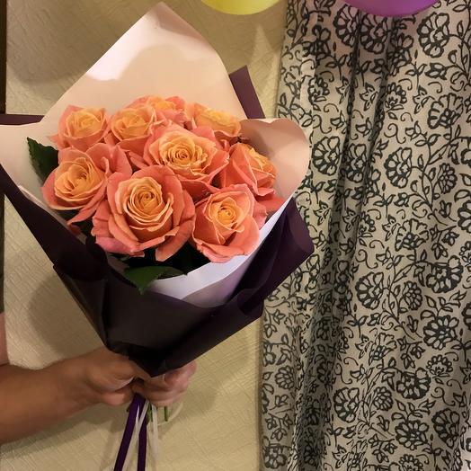Очаровательная Мисс Пигги: букеты цветов на заказ Flowwow