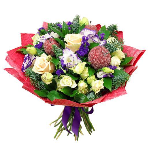 Букет Зимний сад: букеты цветов на заказ Flowwow