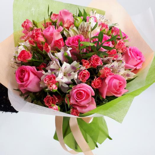 Pink punch: flowers to order Flowwow