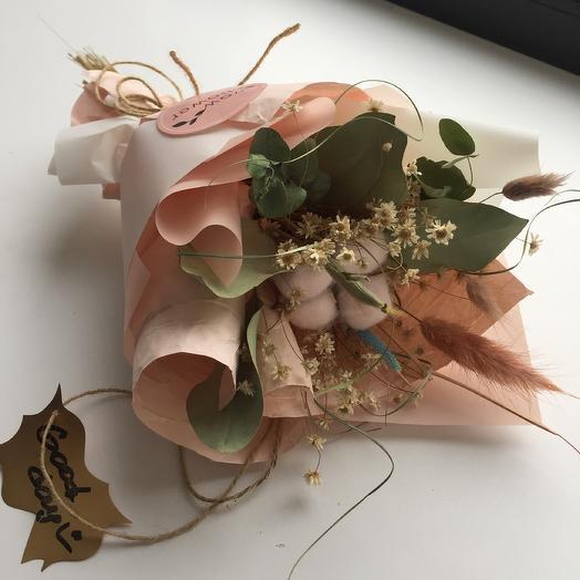 «Брюле» Интерьерный букет: букеты цветов на заказ Flowwow