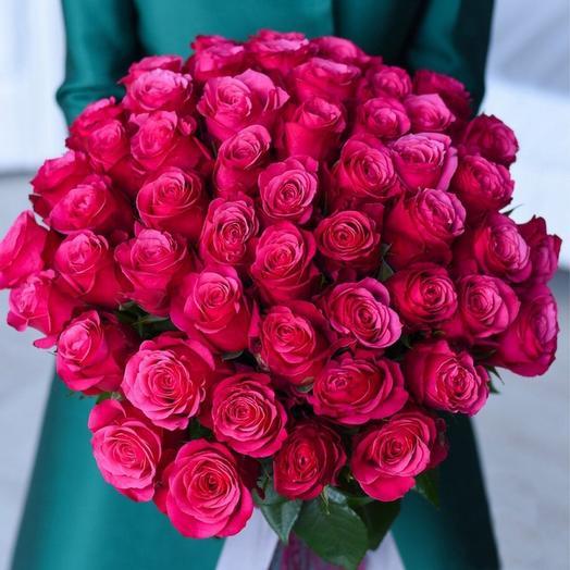 51 элитная эквадорская роза