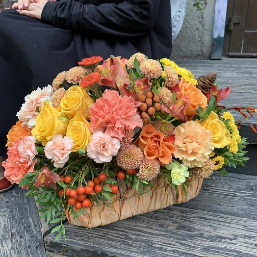 Легенды осени: букеты цветов на заказ Flowwow