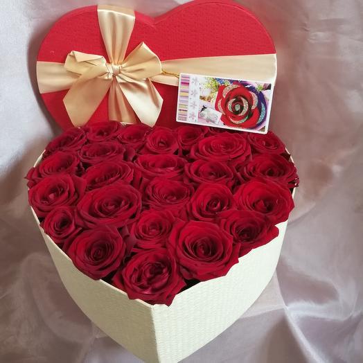 Символ любви 3: букеты цветов на заказ Flowwow