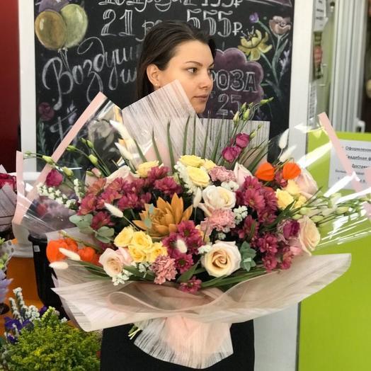 Яркость: букеты цветов на заказ Flowwow