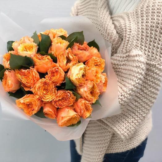 Букет из 25 роз сорта Каралуна: букеты цветов на заказ Flowwow