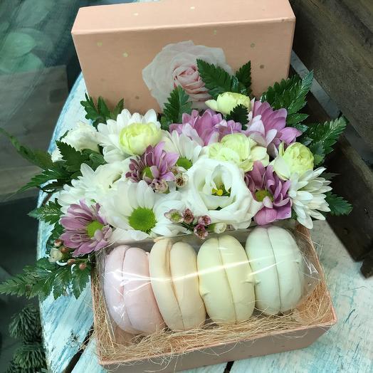 Зефирный поцелуй: букеты цветов на заказ Flowwow