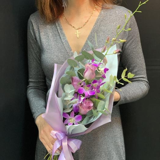 Букет комплимент «Лоли»: букеты цветов на заказ Flowwow