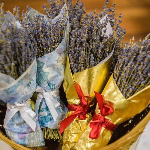Зимняя лаванда: букеты цветов на заказ Flowwow