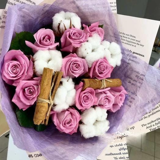 Роза с корицей: букеты цветов на заказ Flowwow