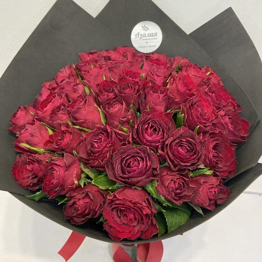 Красные розы любви 🌹: букеты цветов на заказ Flowwow