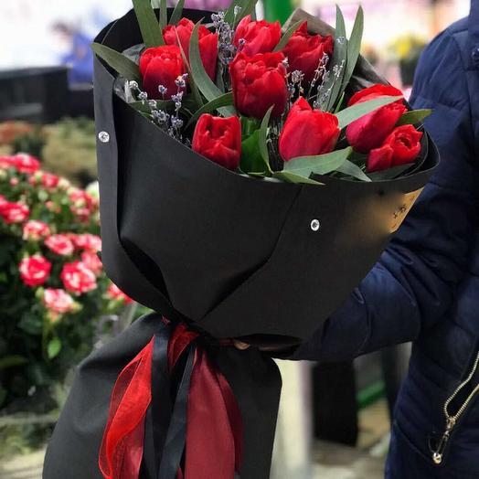 Вечер для двоих: букеты цветов на заказ Flowwow