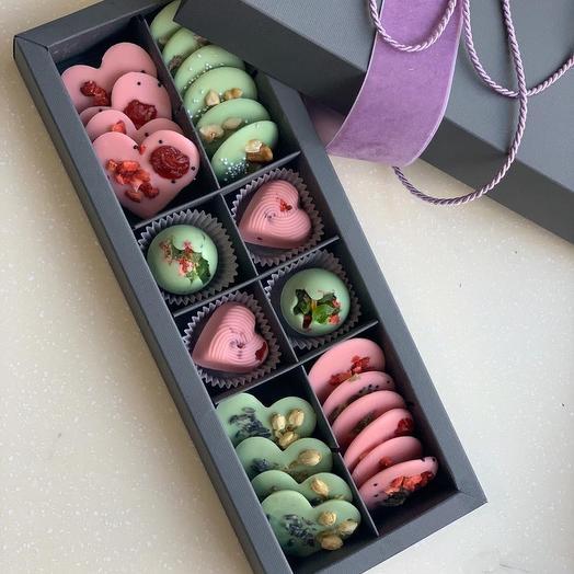 Подарочный набор Бельгийский шоколад: букеты цветов на заказ Flowwow