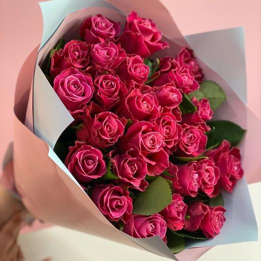 Букет из роскошной кенийской розы «Tacazzi»: букеты цветов на заказ Flowwow