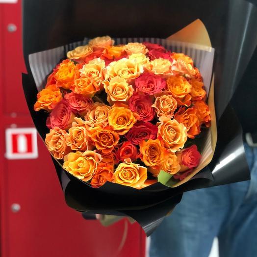 Огненные розы