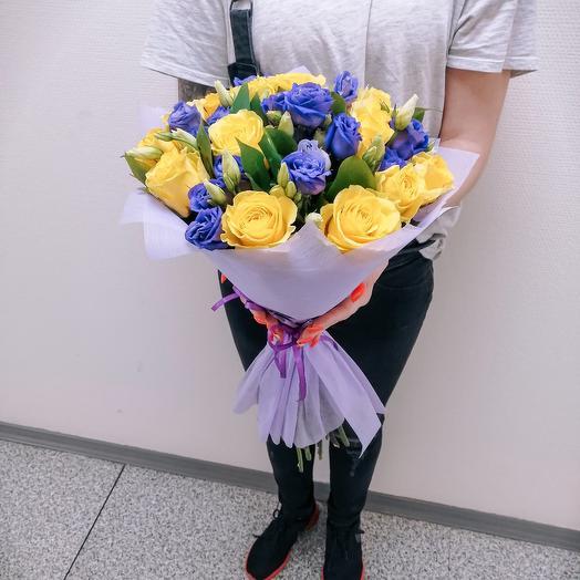 Звёздная ночь 🌉🌠: букеты цветов на заказ Flowwow
