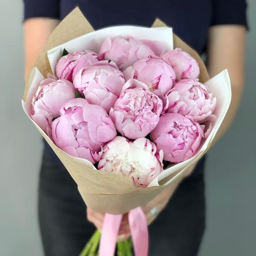 Зефирные пиончики💖: букеты цветов на заказ Flowwow