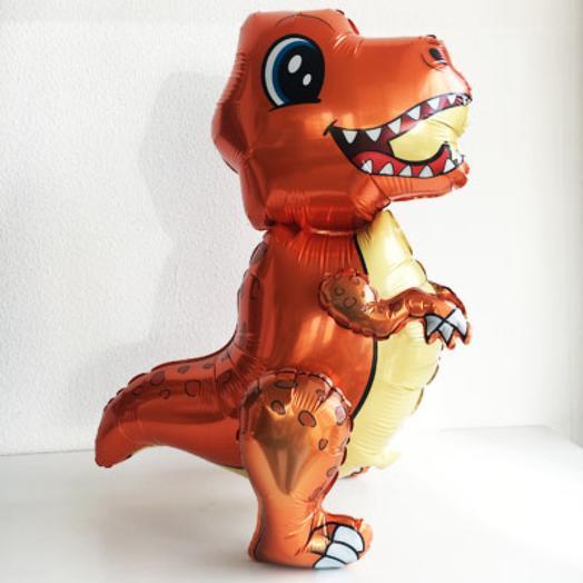Ходячий шар Динозавр Тираннозавр малыш