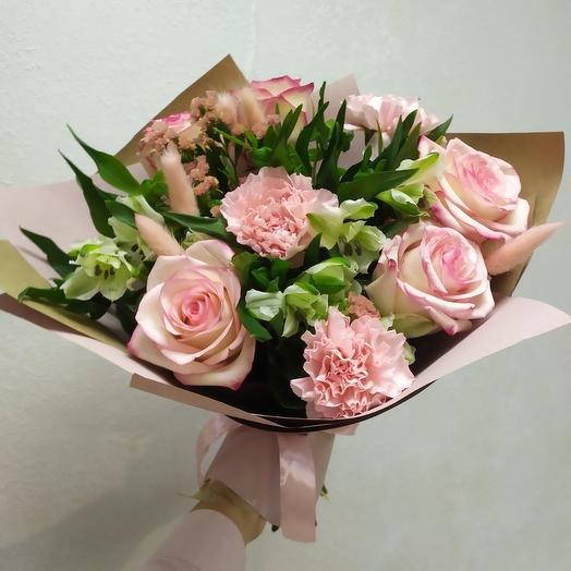 """Букет """"Парижанка"""" розовый"""