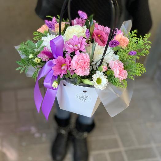 Сумочка с цветами «Радость»
