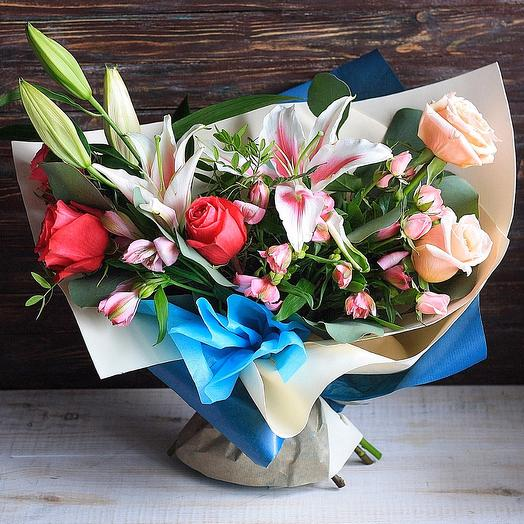 Цветочный букет Вдохновение