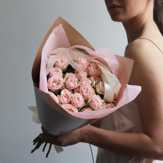 «Букет из пионоводной розы»