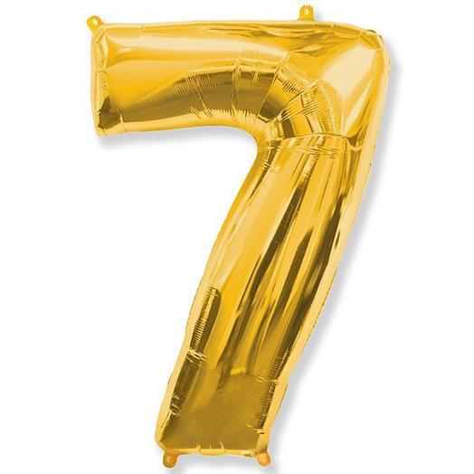Шары цифра 7