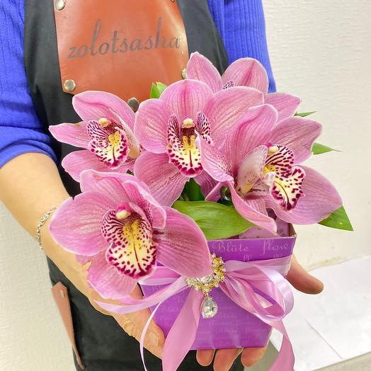 Орхидеи в коробке🌸🙏🏻💖💝