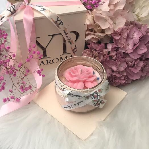 """Scented candle """" Wonderful Garden"""""""
