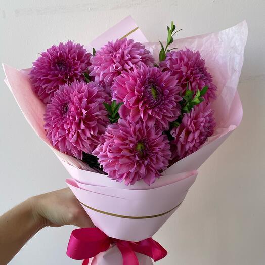 Розовые зефирки