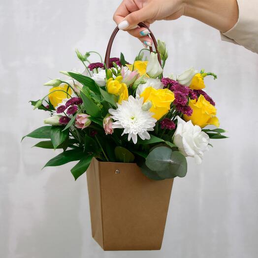 Цветы в кашпо Дорогой человек