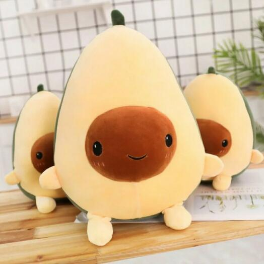 Мягкая игрушка Авокадо 27см