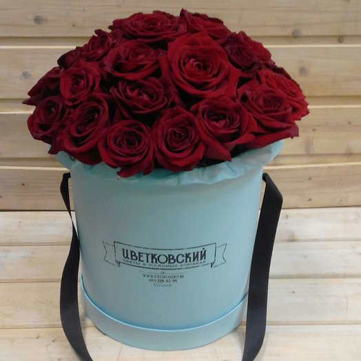 Коробка Классика: букеты цветов на заказ Flowwow