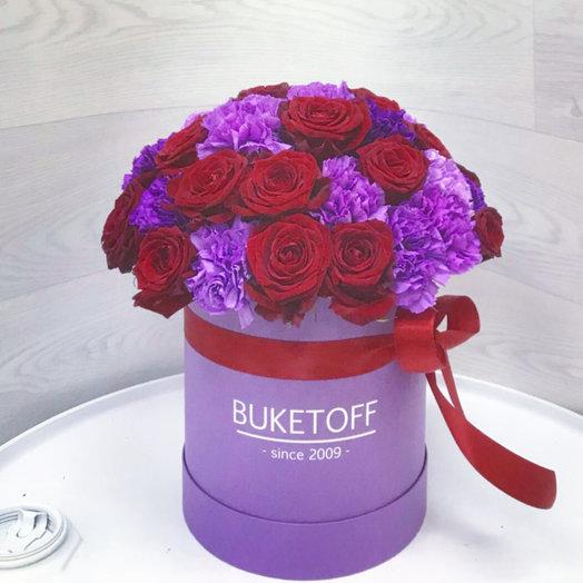 Buketoffbox Edem: букеты цветов на заказ Flowwow