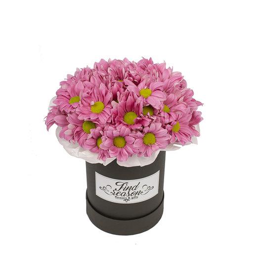 """Шляпная коробка """"Таинственная незнакомка"""": букеты цветов на заказ Flowwow"""