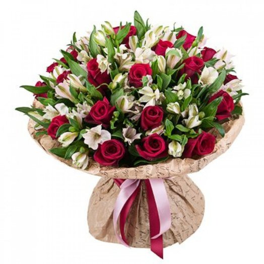 """Букет """"Признание в любви"""": букеты цветов на заказ Flowwow"""