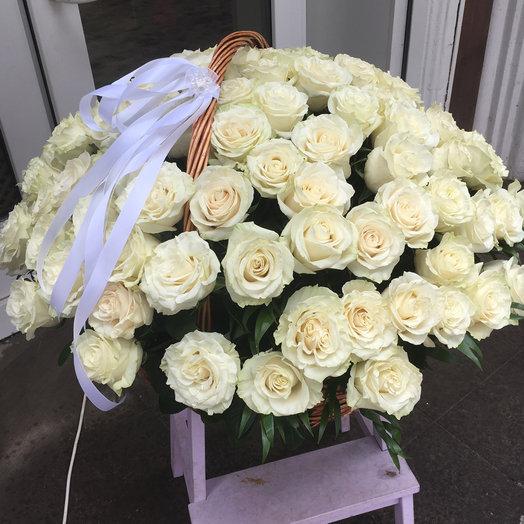 Корзина 5: букеты цветов на заказ Flowwow