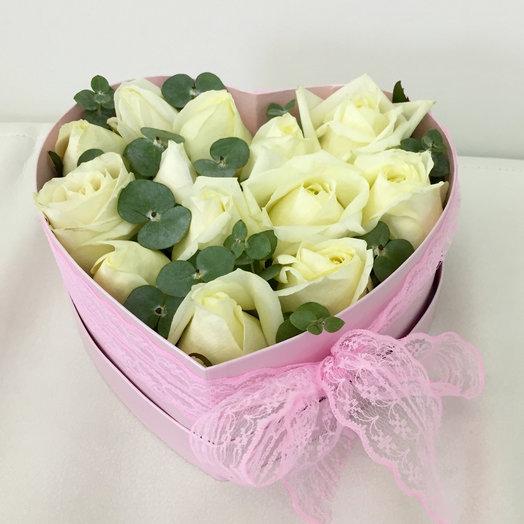 Цветочное сердце : букеты цветов на заказ Flowwow