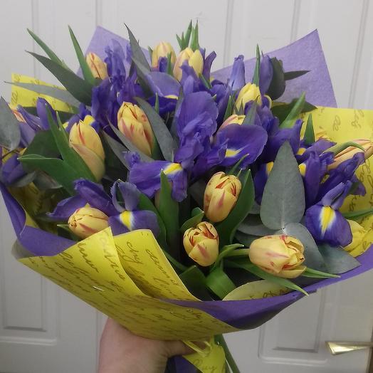 Ириска: букеты цветов на заказ Flowwow