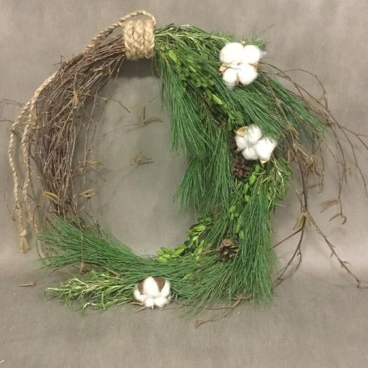 Рождественский венок: букеты цветов на заказ Flowwow
