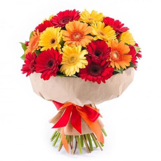 "Букет ""Осенний карнавал"": букеты цветов на заказ Flowwow"