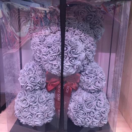 Мишка 3Д: букеты цветов на заказ Flowwow