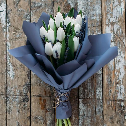 Букет 002: букеты цветов на заказ Flowwow