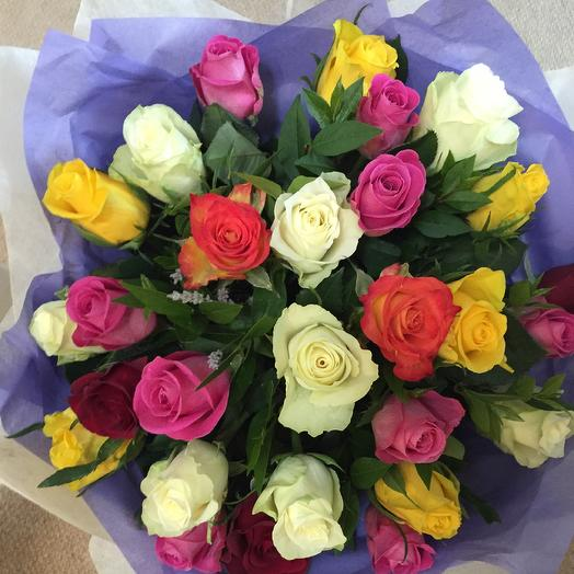 25 mix roses: flowers to order Flowwow