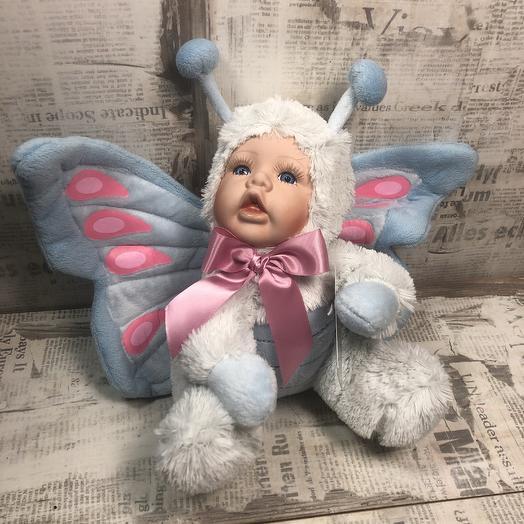 Кукла бабочка: букеты цветов на заказ Flowwow