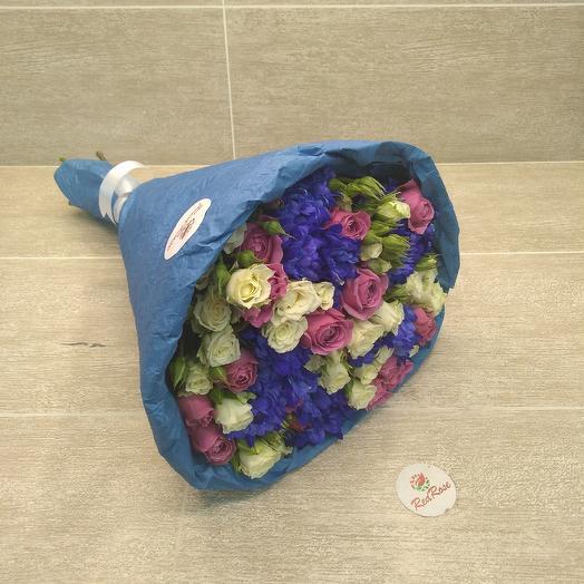 Весеннее вдохновение: букеты цветов на заказ Flowwow